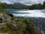 Tu niekde pramení rieka Sjoa...