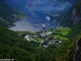 Geirangerfjord - vraj najkrajší nórsky fjord zapísaný aj v UNESCO...