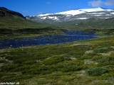 A už ho vidíme druhý najvyšší v Nórsku - Glittertinden...