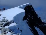 Vrcholová ľadovcová čiapka na Glitertindene...