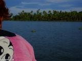 Na výlete loďou vo vodnom ekosystéme Backwaters...