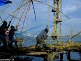 Ťažká práca rybárov...