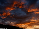 Západ slnka na Yukone...