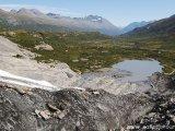 Pohľad z ľadovca Vortington...