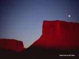 Západ slnka v južnom Utahu...
