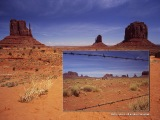 Monument Valley - údolie monumentov...