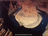 Horseshoe Bend skalná podkova na rieke Colorado...