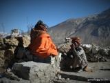 Svätí muži ,,sadhuovia,, na púti do Muktinathu...
