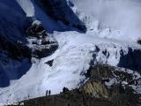 A je to tu sedlo Thorong La, 5416 metrov nad morom...