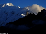 Západ slnka nad Annapurnou IV...