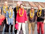 Prílet do Káthmandú...