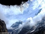 Cestou do BC Annapurny...