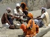 Svätí muži - sádhuovia na púti do Muktinathu....