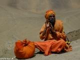 Pútnik na ceste do Muktinathu...