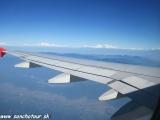 Prílet do Nepálu...