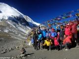 A je to tu, sedlo Thorong La vo výške 5416 metrov...