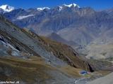 A dlhá cesta nadol do pútnického miesta Muktinath......