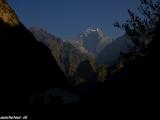 Posledné ráno v Himalájach....