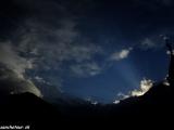 Západ slnka nad Annapurnou II....
