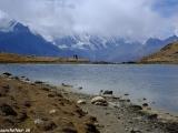 Aklimatizačná túra k jazeru Ice Lake...