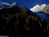 Ráno nad Annapurnami...