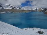A je to tu- najvyššie položené jazero Tilicho Lake...
