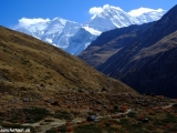 Annapurny za našimi chrbtami...