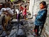 Dievčatko z Himalájí...