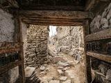 Staré uličky Manangu...
