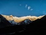 Západ slnka v Tilicho BC...