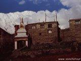 Dedinka pod Annapurnou...