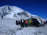 A je to tu sedlo Thorong la vo výške 5416 metrov...