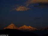 Svitanie nad Dhaulagiri...
