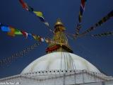 Budhanáth v Káthmandu...