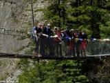Najlepšia skupina na moste....