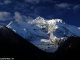 Annapurna II ráno z okna...