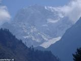 Himaláje v oblakoch...
