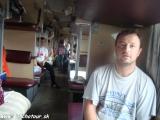 Vlakom Bajkalsko Amurskej magistrály...