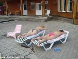 Oddych v miestnom termálnom kúpalisku...