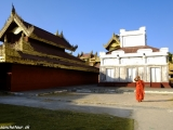 Kráľovský palác v Mandalay...