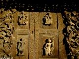 Drevená výzdoba v storočných chrámoch..
