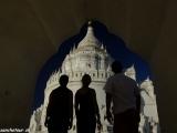 Biely chrám v Mingune..
