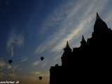 Balóny nad Baganom...
