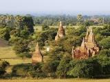 Bagan - jeden znajväčších highlightov  Barmy...
