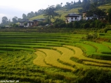 Bhutánsky vidiek...