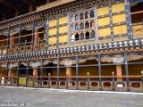 Detaily bhutánskej architektúry...