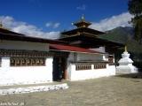 Kláštor Kiychu lhakhang najstarší v Bhutáne...