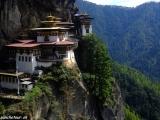Najznámejší obrázok z Bhutánu...