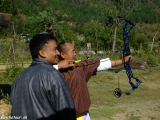 Lukostreľba - národný šport Bhutánu...