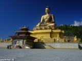 Najväčšia socha Budhu v Bhutáne...